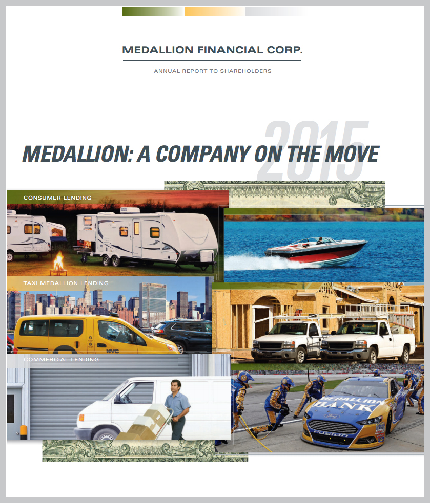 Medallion's 2015 Annual Report